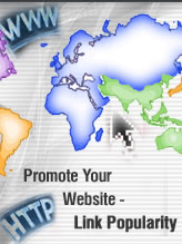Promote Your Website - Link Popularity