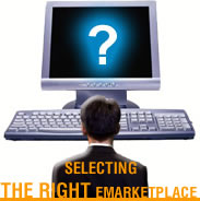 Selecting the right emarketplace